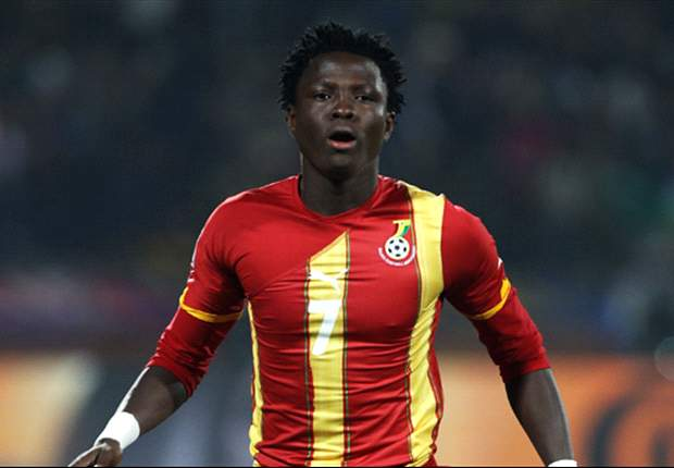 Samuel Inkoom may have been dropped from Ghana's 2013 Afcon squad