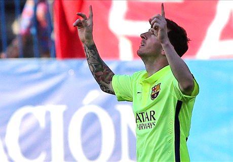 Messi winner seals La Liga title