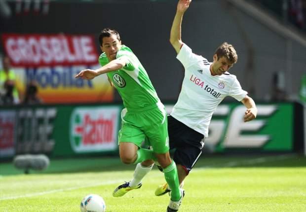 Wolfsburg 0-1 Bayern Munich: Last-gasp Luiz Gustavo effort gives Bavarians the points