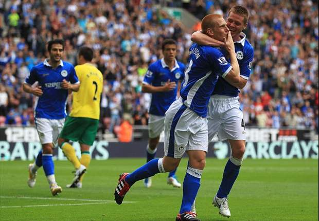 Wigan Athletic 1-1 Norwich City: Goalkeeping blunder from Al-Habsi gives Canaries impressive away point on opening day
