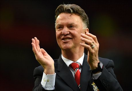 Van Gaal reveals Man Utd formation