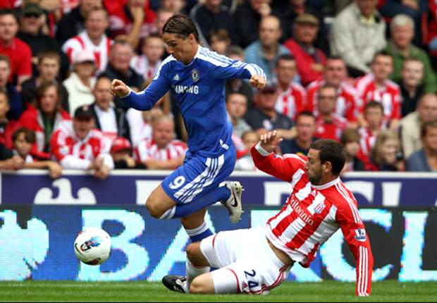 Chelsea striker Fernando Torres after 0-0 draw at Stoke: We are really disappointed because we clearly should have been given two penalties