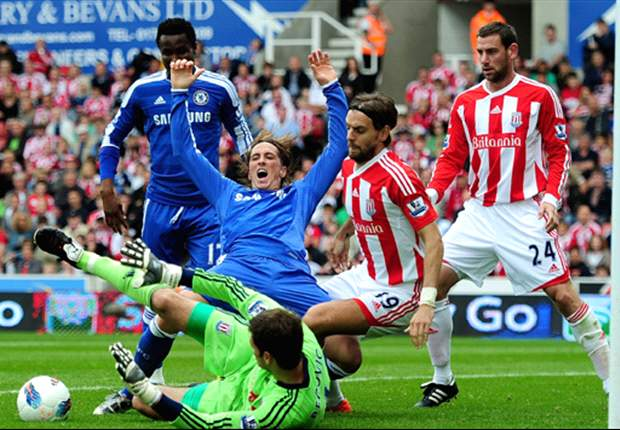 Stoke City 0-0 Chelsea: Lampard controversially denied penalty as determined Potters dampen Villas-Boas party