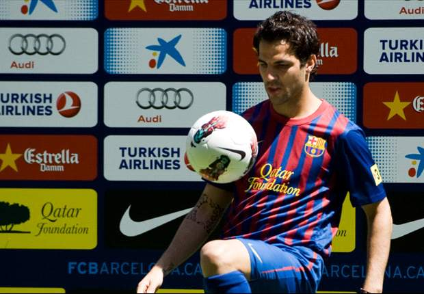 In Pictures: Cesc Fabregas leaves Arsenal for Barcelona