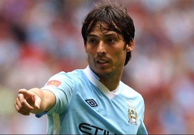 Roberto Mancini Compares Manchester City's David Silva To Barcelona Pair Xavi And Andres Iniesta