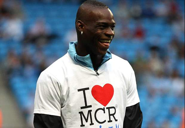 Aguero injured, Tevez exiled, Dzeko benched - Manchester City's Mario Balotelli chooses perfect time to show he can be the man for Mancini