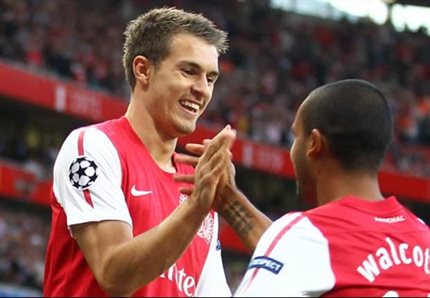 Aaron Ramsey blasts Arsenal's 'totally unacceptable' start to the season