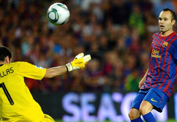 Barcelona 3-2 Real Madrid (Agg. 5-4): Lionel Messi brace settles bad-tempered Supercopa clash