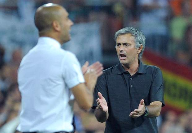 Barcelona coach Pep Guardiola left aghast after Jose Mourinho's actions during Supercopa win over Real Madrid