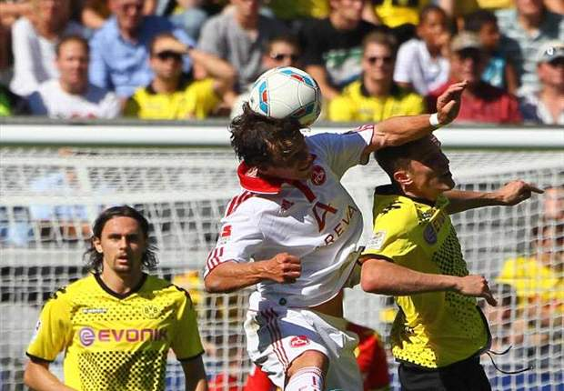 Borussia Dortmund 2-0 Nurnberg: Kevin Grosskreutz and Robert Lewandowski fire BVB to victory