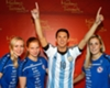Messi waxwork unveiled in New York