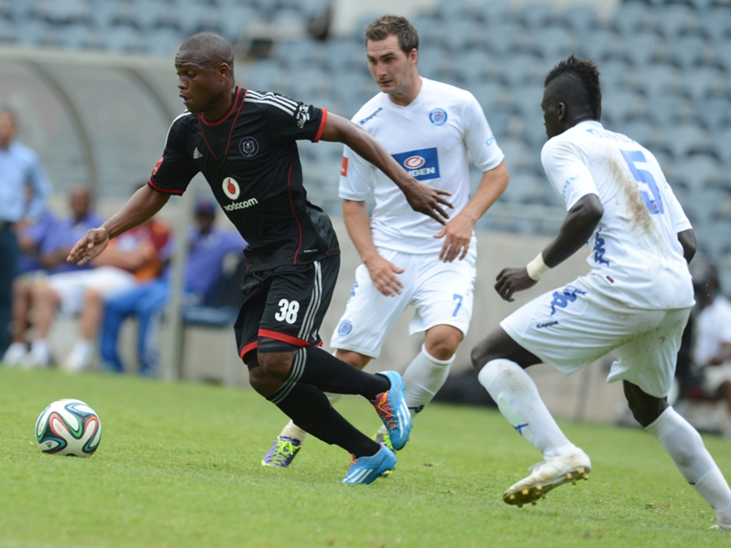 Bloemfontein Celtic assess Pelembe and Dube from Orlando Pirates