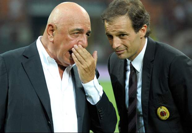 Adriano Galliani hits back at claims that AC Milan are inferior to Juventus and Napoli
