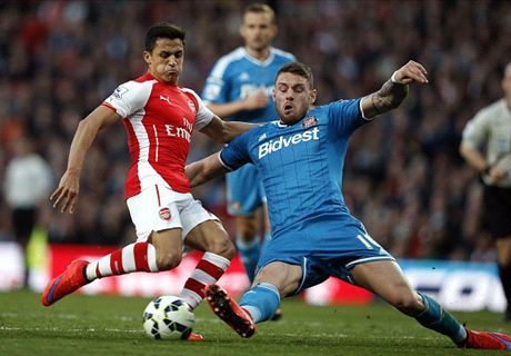 Arsenal shut out by Sunderland