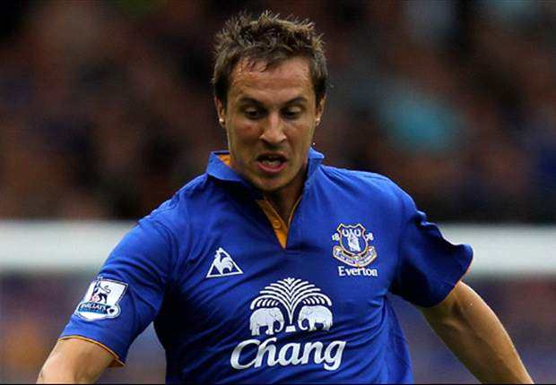 Jagielka insists Everton are not favourites going into Merseyside derby