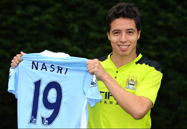 Samir Nasri Expected To Be Fit For Manchester City's Match Against Wigan Athletic Despite Having A Broken Finger - Report