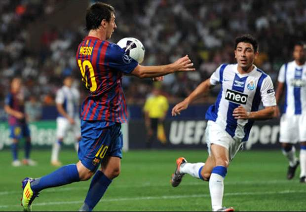 Barcelona 2-0 Porto: Lionel Messi does it again and Cesc Fabregas hits debut goal as Catalans claim UEFA Super Cup