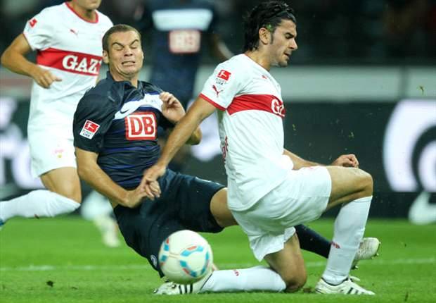 Hertha Berlin: Pierre-Michel Lasogga vergleicht sich mit Mario Gomez