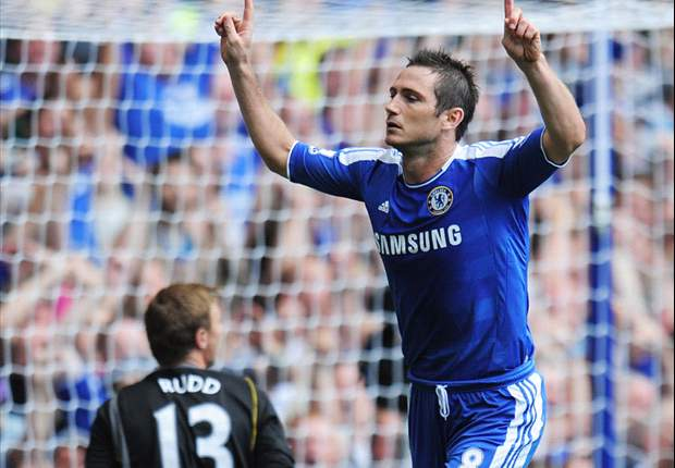 Chelsea 3-1 Norwich City: Debut goal from Mata & Lampard penalty reprieve Hilario after blunder as Drogba is stretchered off