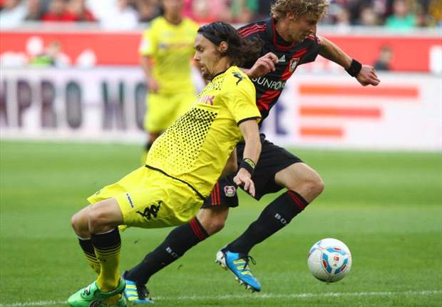 Bayer Leverkusen 0-0 Borussia Dortmund: Gotze & Kadlec sent off as Champions League hopefuls share the spoils