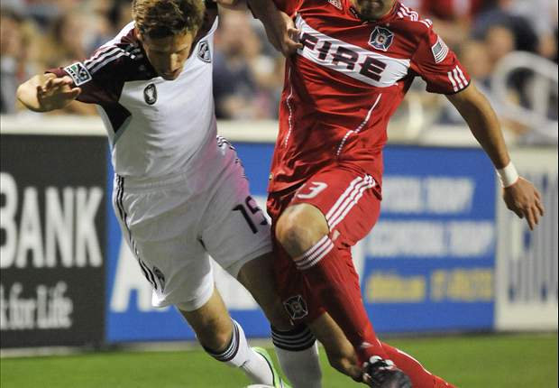 Chicago Fire 2-0 Colorado Rapids: Fire win two in a row for the first time in 2011
