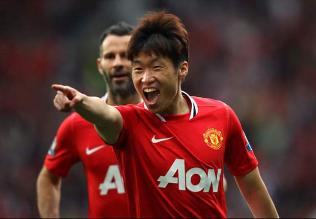 Manchester United midfielder Park Ji-Sung proud to make 200th club appearance