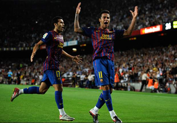 TEAM NEWS: David Villa returns for Barcelona as Thiago starts in midfield against Atletico Madrid