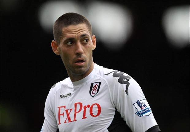 Arsenal make move for Clint Dempsey but Fulham demand £10m for midfielder