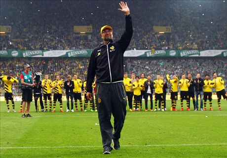 BVB say farewell to Klopp with victory