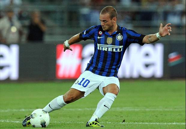 TEAM NEWS: Wesley Sneijder benched for Inter's trip to Palermo