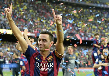 Xavi: Barcelona are best in the world