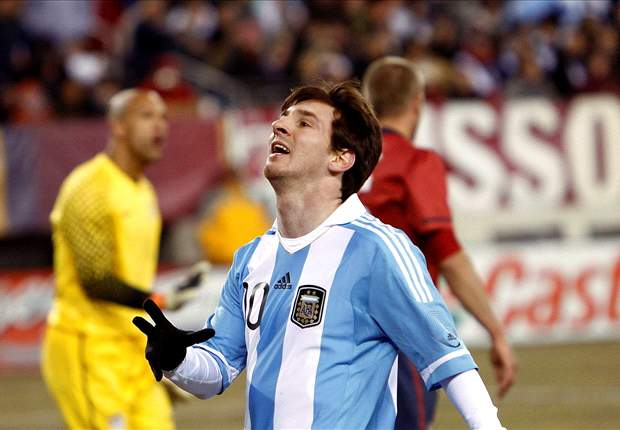 Barcelona's Lionel Messi left frustrated by poor goalscoring record for Argentina