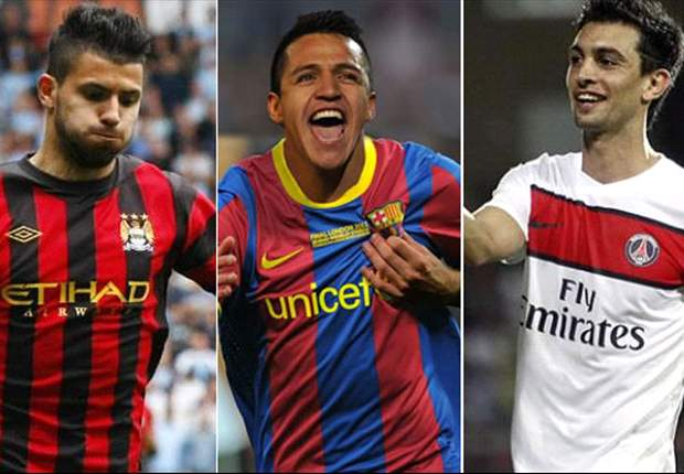 From Fabregas to Aguero, Manchester City to PSG - the biggest movers and spenders of the 2011 summer transfer window