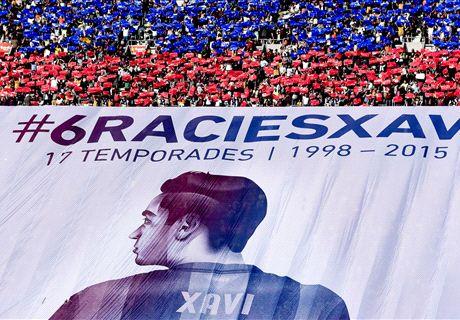 IN PICS: Xavi's Barca farewell
