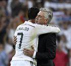 Real Madrid, Ancelotti a le soutien de Cristiano Ronaldo