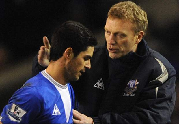 Everton manager David Moyes: Champions League football attracted Mikel Arteta to Arsenal