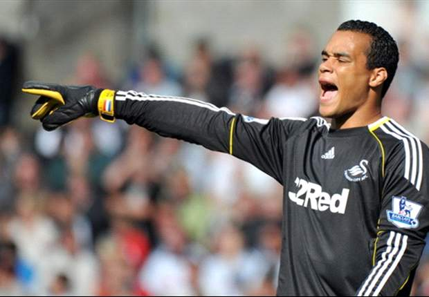 'I am very happy at Swansea' - Vorm denies exit rumours