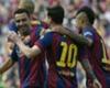 Xavi; Lionel Messi Barcelona