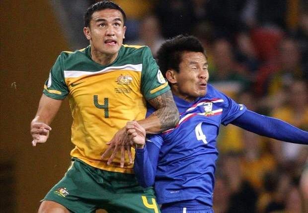 Australia 2-1 Thailand: Socceroos do it the hard way in opening 2014 FIFA World Cup qualifier