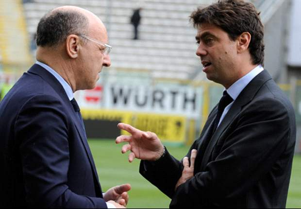 Juventus' Giuseppe Marotta aiming for top three finish in Serie A