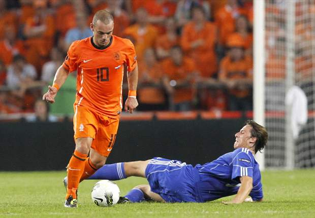 Netherlands should appoint Jose Mourinho if they want the best of the best - Inter's Wesley Sneijder