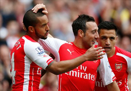 LIVE: Arsenal 3-0 West Brom