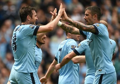 Lampard says goodbye with City winner