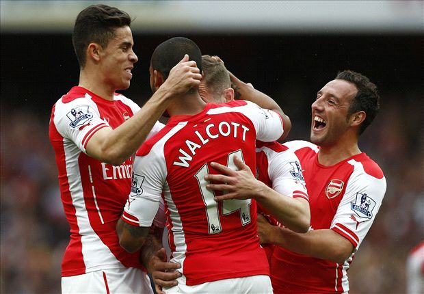 Arsenal 4-1 West Brom: Walcott & Wilshere help Gunners secure third place
