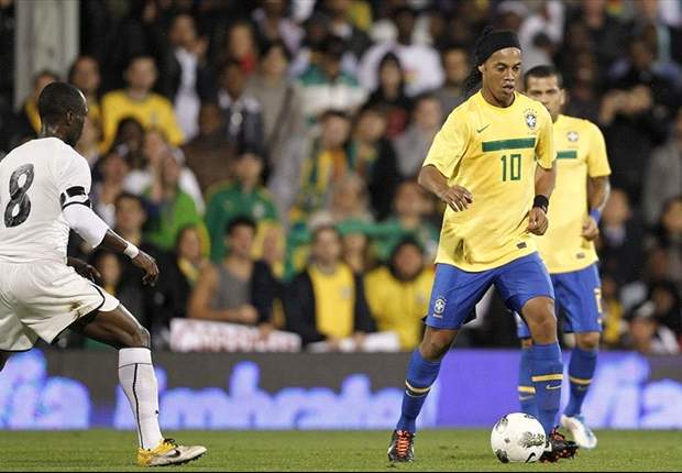 Ronaldinho dreams of a place in Brazil's 2012 Olympics squad