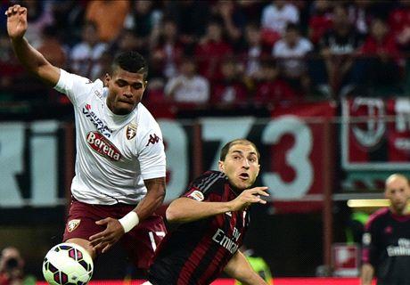 Milan-Torino LIVE! 1-0, espulso Zaccardo