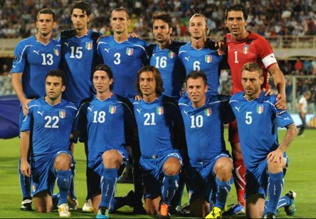 Italy 1-0 Slovenia: Late Giampaolo Pazzini strike seals Euro 2012 qualification for hosts