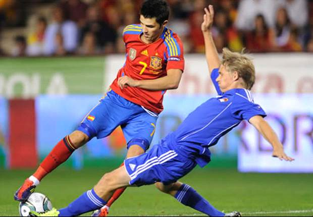 Barcelona confirm Villa will not play for Spain at Euro 2012