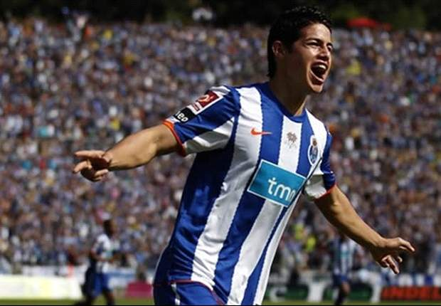 Porto winger James Rodriguez shrugs off alleged Manchester United interest