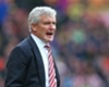 Hughes plays downs Everton talk